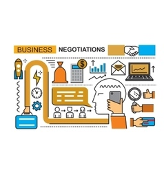 Abstract business on white vector