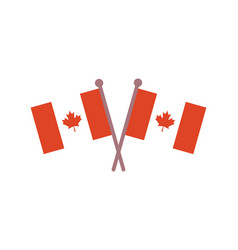 canadian flags official canada flag with original vector image