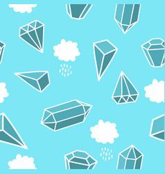 Diamonds in the sky vector