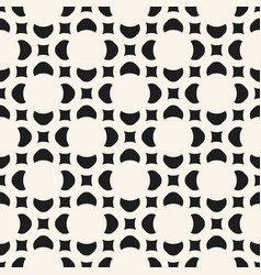 geometric floral seamless pattern abstract vector image