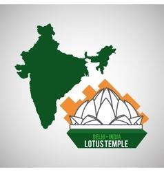 India design Culture icon Isolated vector image