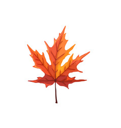 leaf icon isolated vector image