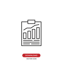 result list icon vector image
