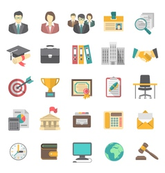 Resume Icons vector image