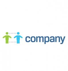Social help organization logo vector