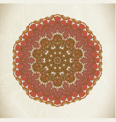 vintage mandala art vector image