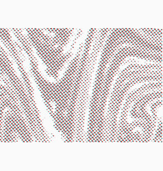 glitch effect dotted particle liquid retro comic vector image