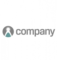 charity company logo vector image vector image