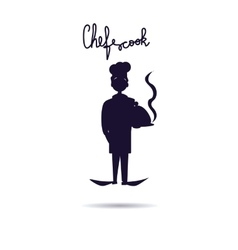 Chef Cook icon Isolated chef vector image vector image
