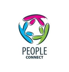 logo people vector image