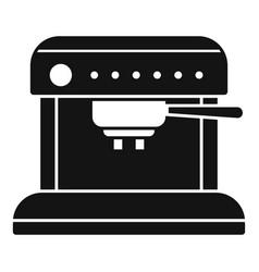 Aeropress coffee machine icon simple style vector
