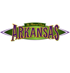 Arkansas The Natural State vector