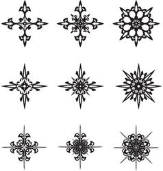graphic stars vector image