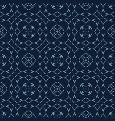 Japanese lace indigo pattern seamless vector