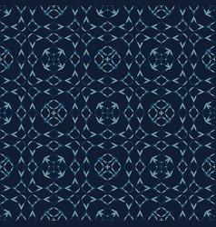 Japanese lace indigo pattern seamless vector