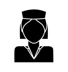 Medical nurse icon vector
