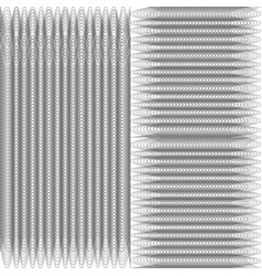 modern design lines pattern repeat undulated vector image