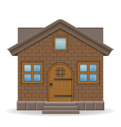Small country house vector