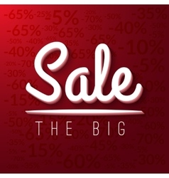 Super sale mega sale banner red EPS 10 vector image