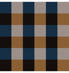 Blue brown chess board background vector