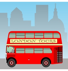 london bus vector image vector image