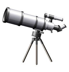 A telescope vector image