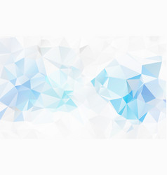 abstract modern polygonal geometric background vector image