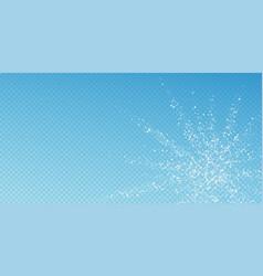 amazing falling stars christmas background subtle vector image