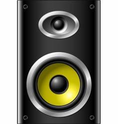 bookshelf speaker vector image