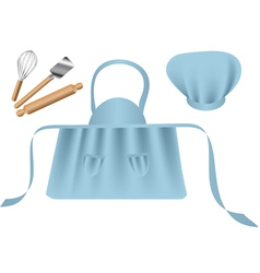 Chef accessories vector image