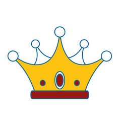 Crown icon image vector