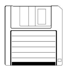 floppy vector image