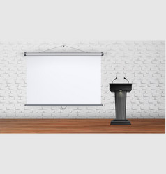 interior university or school lecture room vector image