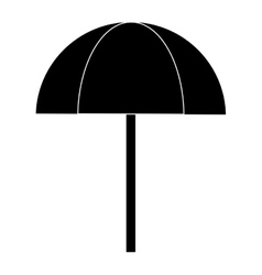 Outdoor umbrella icon vector
