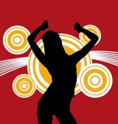 Sex dance vector image