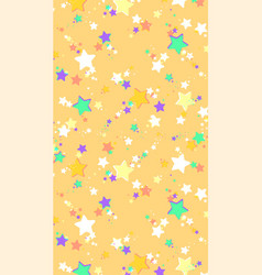 abstract background of colored stars suitable for vector image