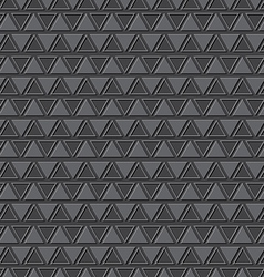 Emboss triangle pattern background vector