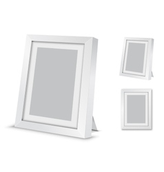Frame desk vector image