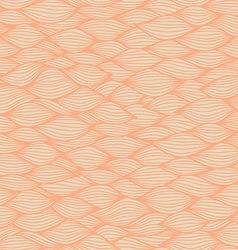 Hand drawn wavy background vector image