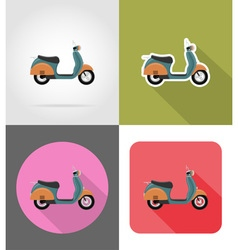 Transport flat icons 53 vector