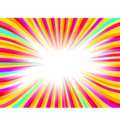 beautiful glow vector abstract background vector image