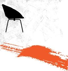 Modern furniture background vector