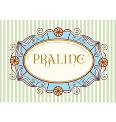 cute vintage label vector image vector image