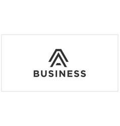 A or aa logo design inspiration vector