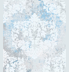 baroque pattern vintage ornamented texture vector image