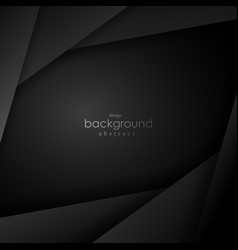 black and grey background square angle vector image