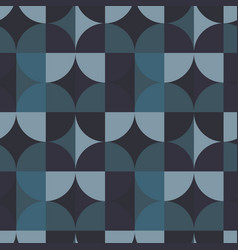 Circle square seamless pattern vector