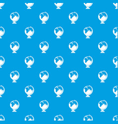 closed book pattern seamless blue vector image