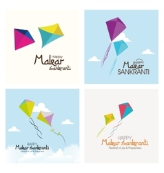 Happy makar sankranti vector