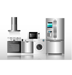 Kitchen appliances1 vector